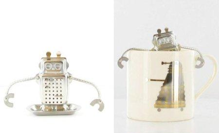 Deja que un robot que te prepara el té