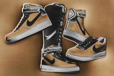 Nike + R.T. Air Force 1. El romance continúa...