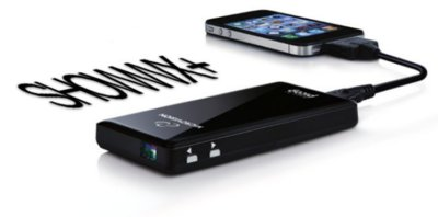 SHOWWX+ pico proyector para iPhone, iPad o iPod Touch