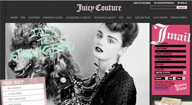 Juicy Couture al alcance de tu mano: nueva tienda virtual