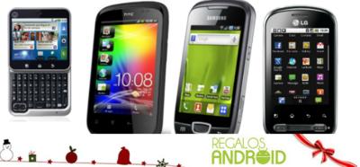 Regalos Android: smartphones económicos