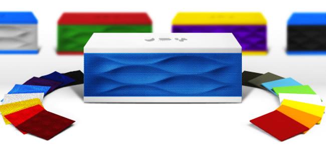 Jambox, el altavoz Bluetooth multicolor de Jawbone ahora con más colores combinables