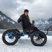 Esto no es una silla de ruedas: es un vehículo todoterreno eléctrico DIY que da mayor libertad a personas de movilidad reducida