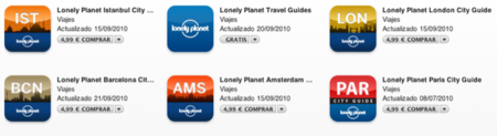 Probamos una guía Lonely Planet para el iPhone e iPod touch