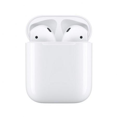 Apple Airpods V2 Auriculares Inalambricos Con Estuche De Carga