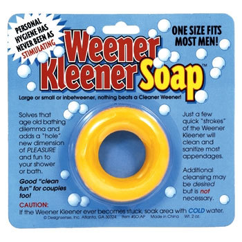 Jabón para la higiene muy íntima masculina
