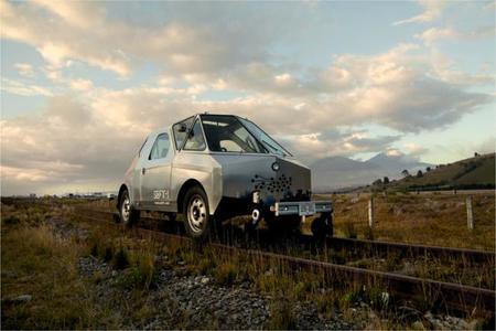 S.E.F.T.-1, el vehículo con el que artistas exploraron vías férreas  como si de un viaje a la luna se tratara