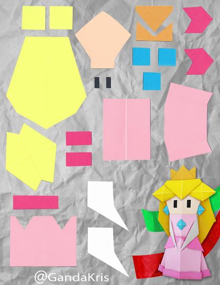 Origamipeach