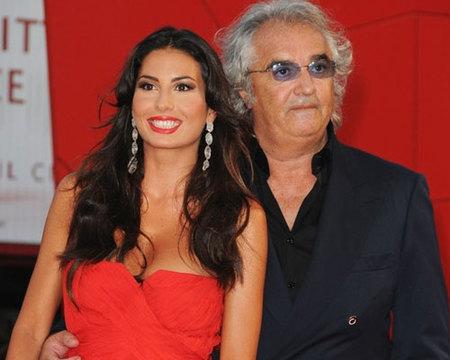 Elisabetta Gregoraci y Flavio Briatore esperan su primer hijo