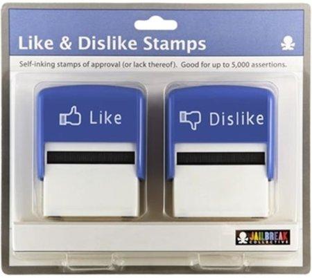 """Inspirado en el """"Me gusta"""" de Facebook llega el sello Like & Dislike"""