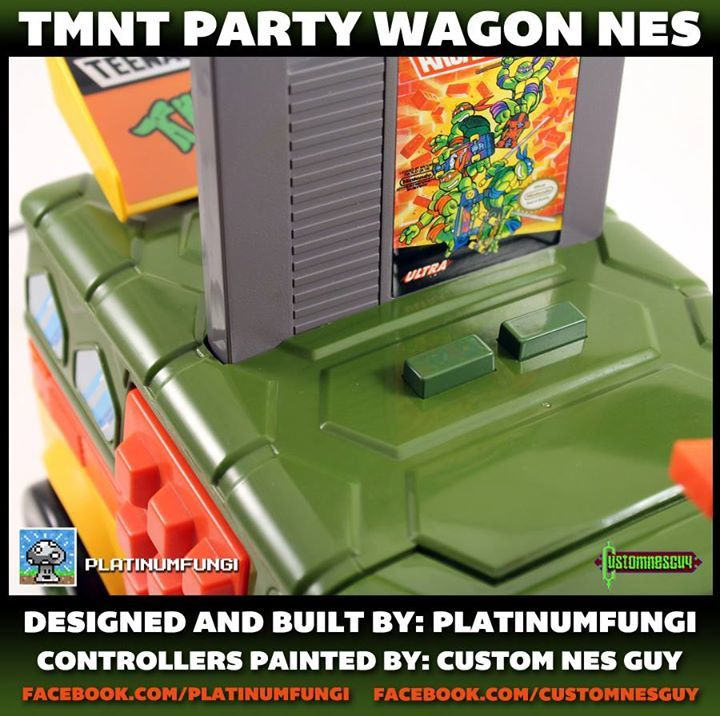 Foto de TMNT Party Wagon NES (3/7)
