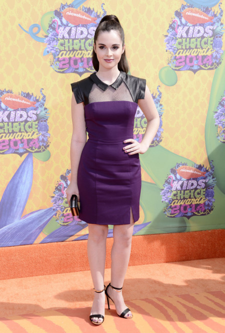 Vanessa Marano Kids Choice Awards 2014 peor vestidas