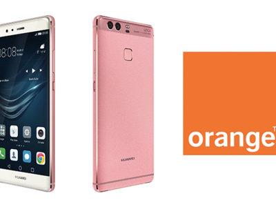 El Huawei P9 en color rosa llega en exclusiva a Orange