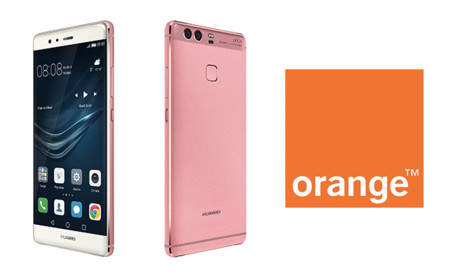 El Huawei P9 en color rosa llega en exclusiva a Orange