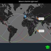 Cómo saber cuándo puedes ver pasar los satélites de Starlink en tu ciudad