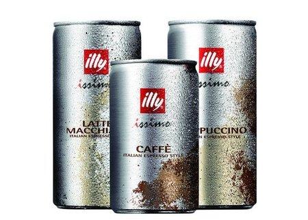 Illy issimo, refrescante café en lata