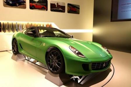 Ferrari 599 Hybrid Concept, el primer híbrido de Ferrari