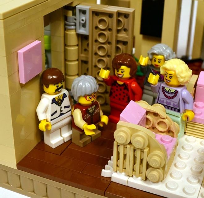 Foto de La versión LEGO de 'Las chicas de oro' (10/19)
