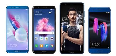 Honor 9 Lite, comparativa: así queda la gama media del fabricante chino a principios de 2018