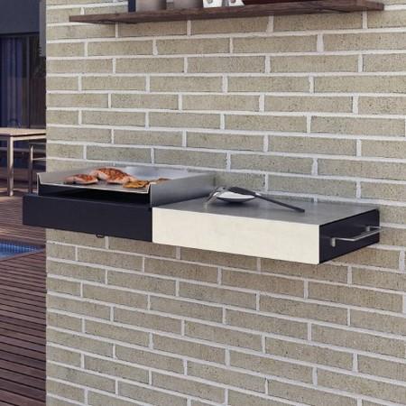este ao la firma fesfoc presenta una coleccin de barbacoas y cocinas de exterior de lnea minimalista