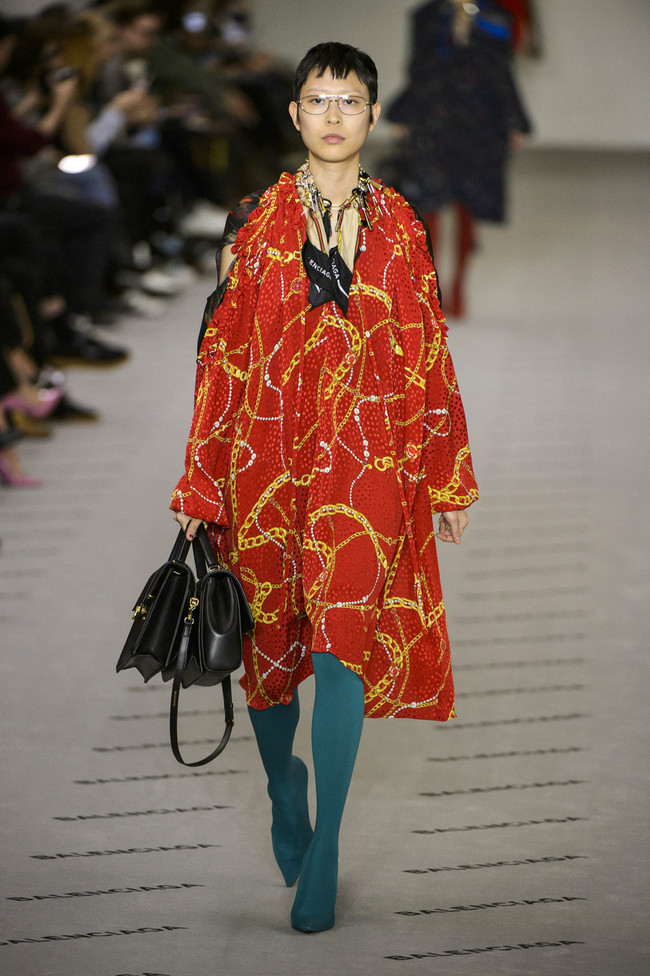 Elle Pfw Fw17 Collections Balenciaga 32