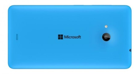 Lumia 535 Back Cyan