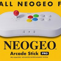 NeoGeo Arcade Stick Pro, la consola con forma de mando, incluirá un total de 20 juegos de lucha preinstalados