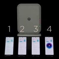 """Motorola muestra la segunda generación de su carga inalámbrica """"por el aire"""": Space Charging puede cargar cuatro smartphones a la vez"""