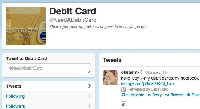 needadebitcard twitter tarjetas debito credito