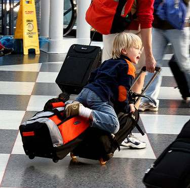 Viajar con bebés: el equipaje