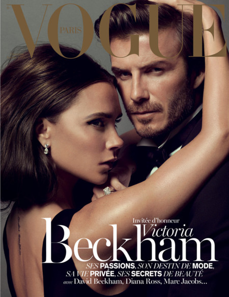 Beckham Vogue Paris portada