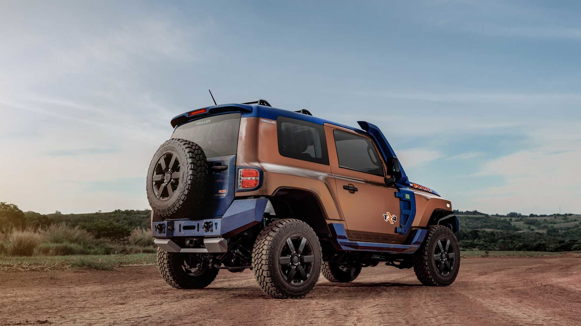 Foto de Troller TX4, el rival del Jeep Wrangler (38/43)
