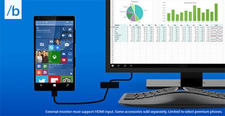 Microsoft Buil15 Continuum