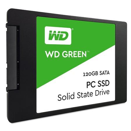 Disco SSD WD Green, con 120GB de capacidad, por 52 euros y envío gratis