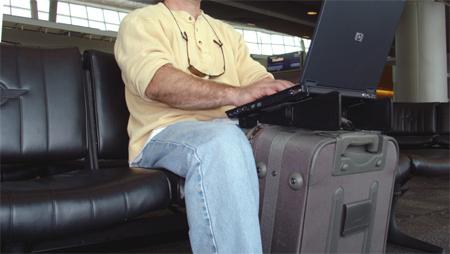Portátiles perdidos en los aeropuertos