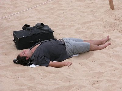 California: dormir en la playa