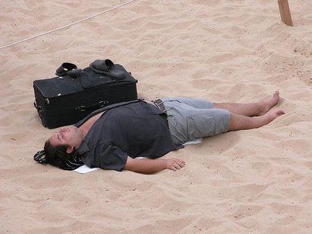 California: dormir en la playa