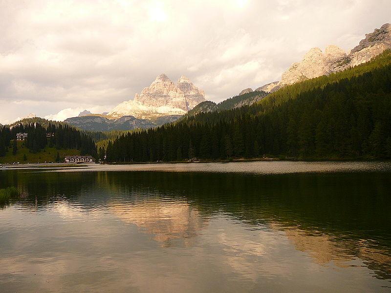 Un enclave lingüístico en mitad de los afilados picos Dolomitas de Italia
