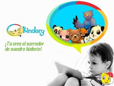 Kindery una App que motiva a los más pequeños a narrar sus propias historias