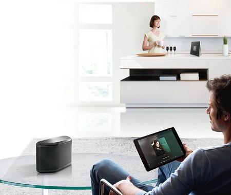 Altavoz de streaming Yamaha WX-030, con conectividad WiFi y Bluetooth, por 167,80 euros