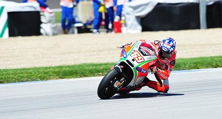 Nicky Hayden Indianapolis crash