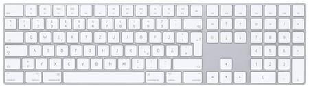 Magic Keyboard con teclado numérico - Español - Plata
