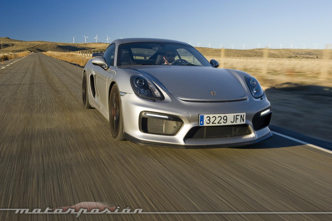 Porsche Cayman GT4 (prueba) (1/39)