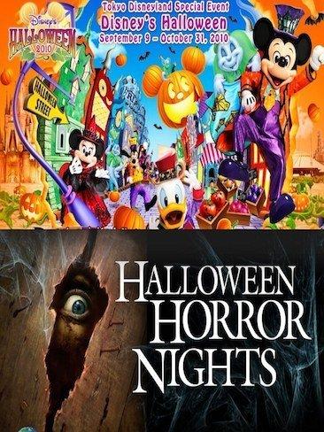 Halloween en los parques temáticos