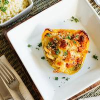 Pimientos rellenos con pollo y chistorra: receta fácil