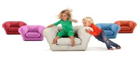 Baby Blo, sillón hinchable para los peques
