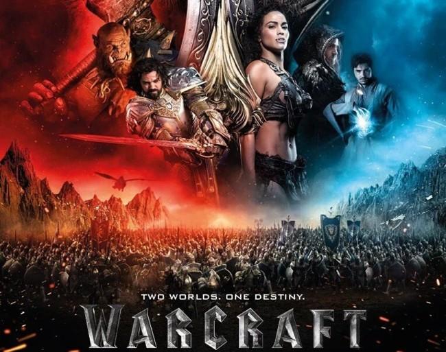 Recorte del cartel de Warcraft
