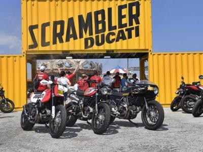 El trío de Ducati Scrambler españolas se estrenó en el WDW, y dentro de poco las tendréis en Asturias