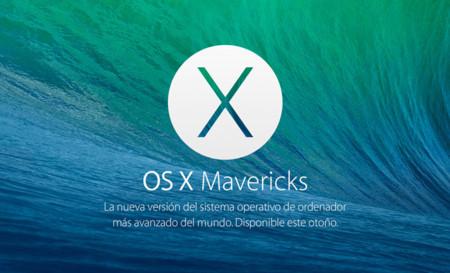 Apple lanza la cuarta beta de OS X Mavericks