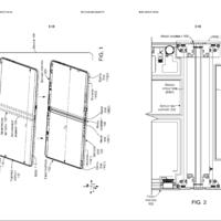 Microsoft vuelve a estudiar en esta patente como implementar la bisagra en dispositivos con pantalla plegable